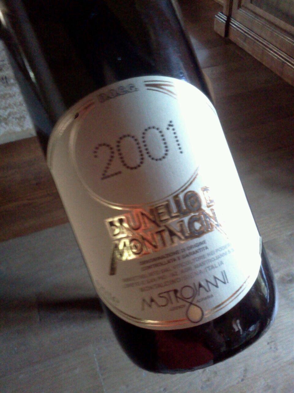 Brunello di Montalcino DOCG 2001 – Mastrojanni