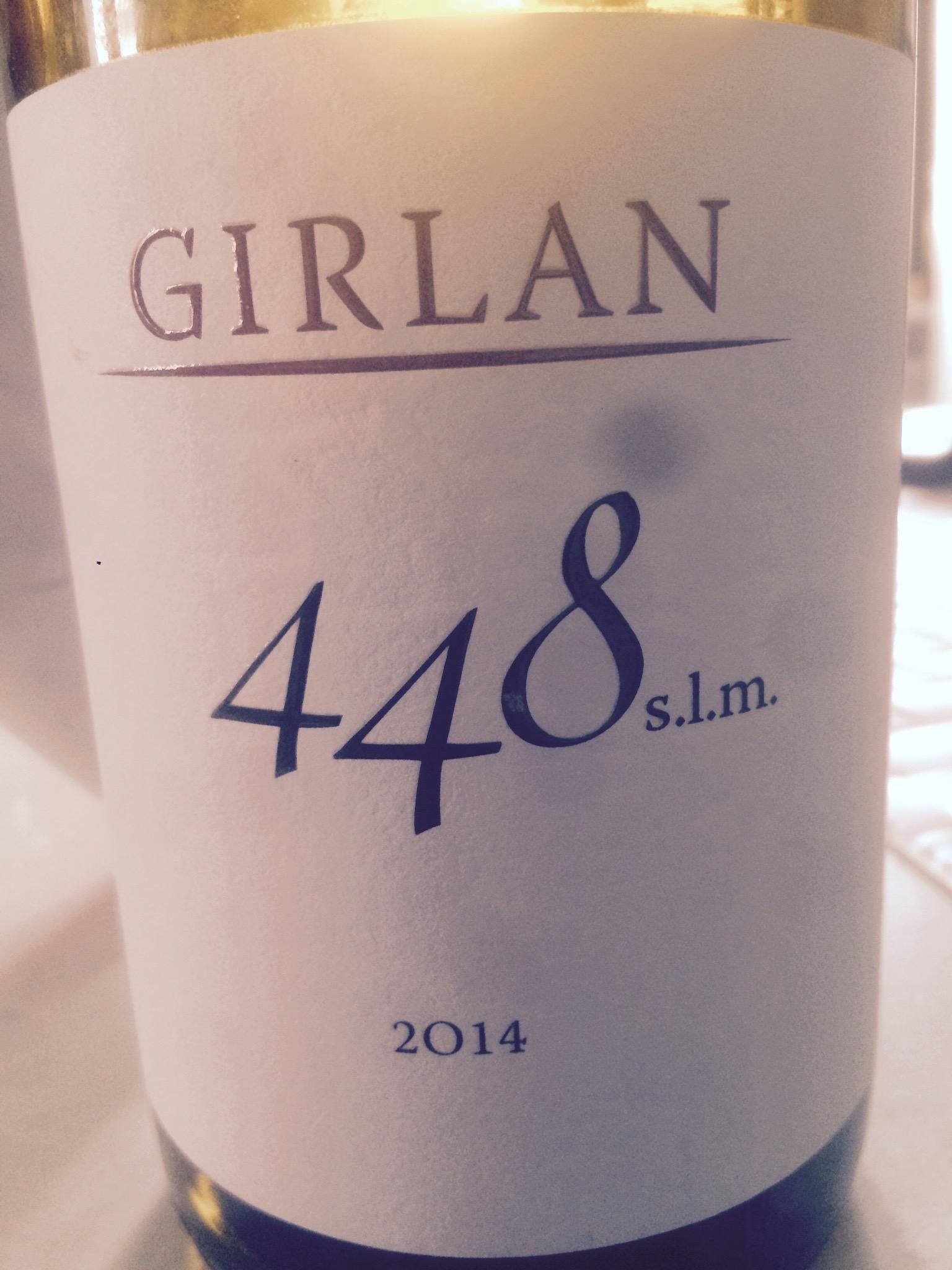 448 s.l.m. 2014 – IGT Dolomiti – Girlan