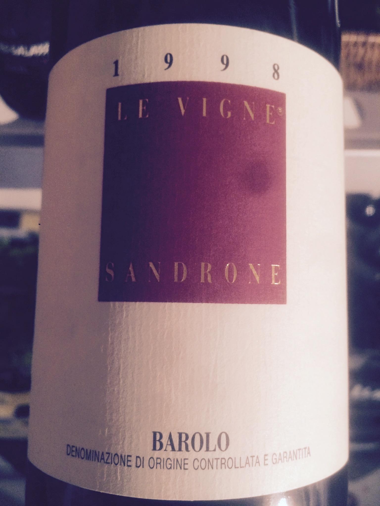 Le Vigne Barolo 1998 – Luciano Sandrone