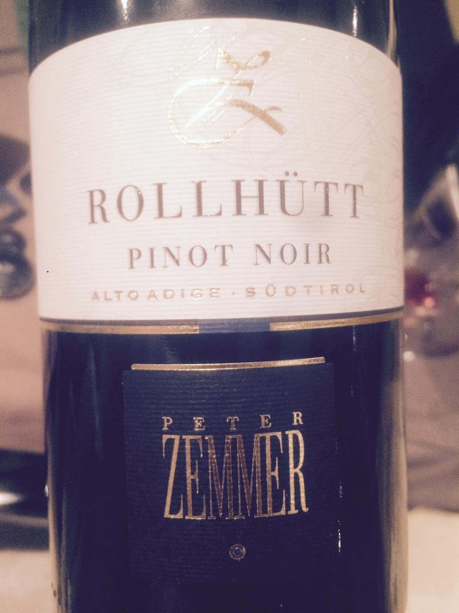 Pinot Noir Rolhüt 2011 – Peter Zemmer