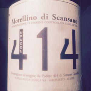 Morellino di Scansano DOCG 2011 - Podere 414