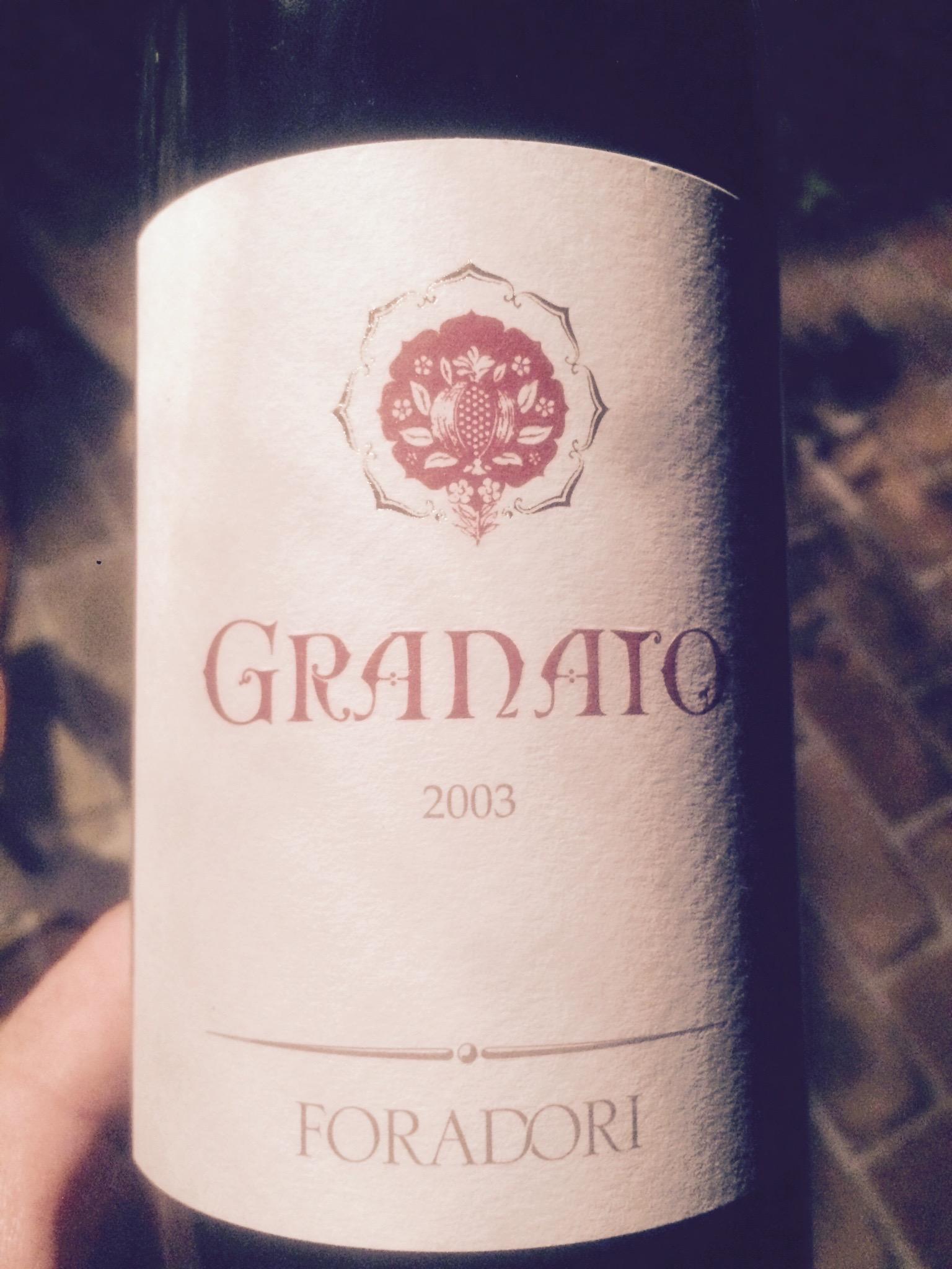 GRANATO 2003 – ELISABETTA FORADORI